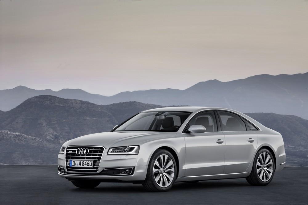 Audi A8 2014 — экстерьер, фото 1