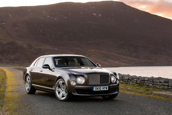 Bentley Mulsanne фото