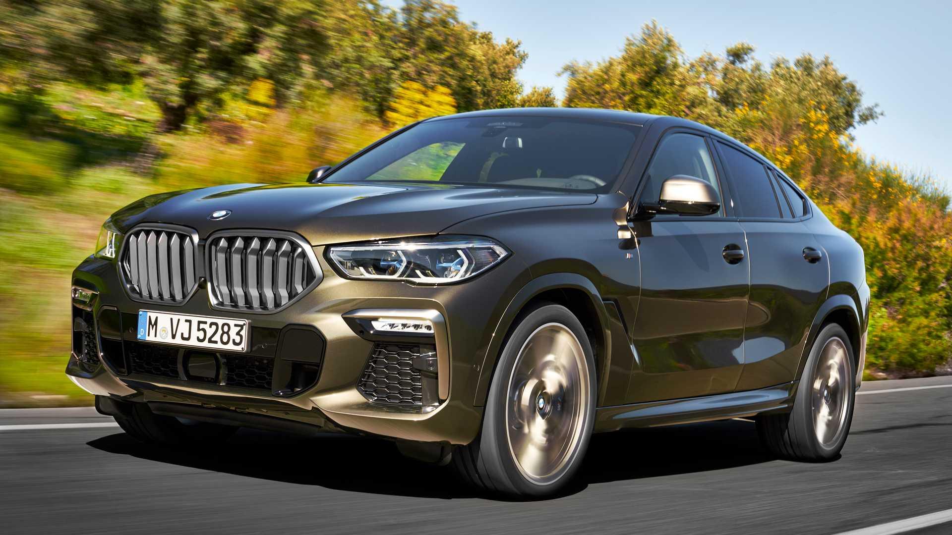 BMW рассекретила «заряженные» X5 и X6