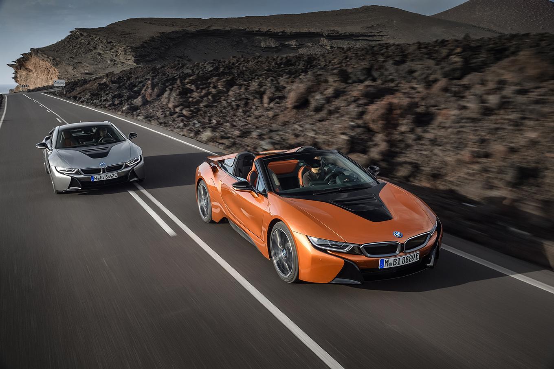 BMW i8 Roadster и BMW i8 2018
