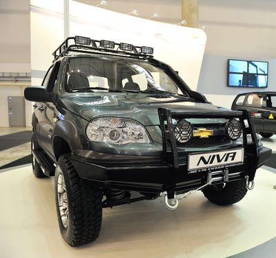 Chevrolet Niva — экстерьер, фото 3