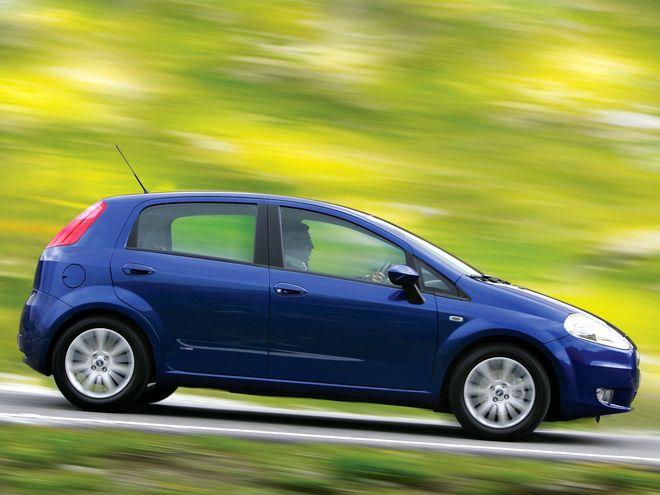 Fiat Punto, экстерьер