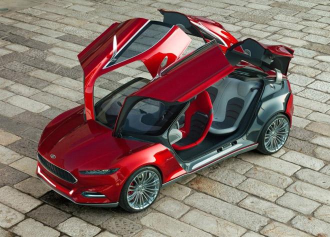 Ford Evos фото