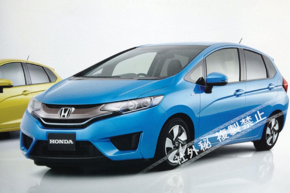 Хонда джаз 2014 фото