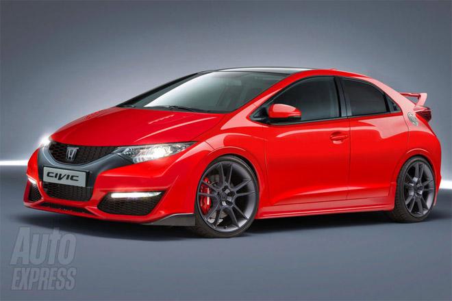 Honda Civic Type R 2013 фото