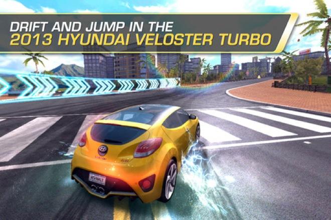 Hyundai Veloster Asphalt 7: Heat