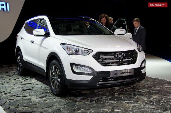 Hyundai Santa Fe 2013 — экстерьер, фото 3