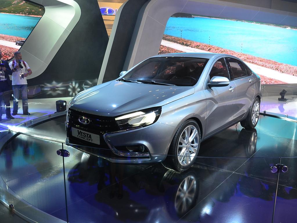 автосалон в москве 2014 лада концепт