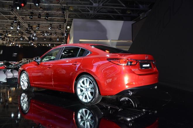 Новая Mazda6 2012