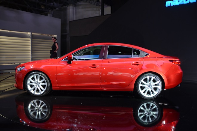 Новая Mazda 6 2012