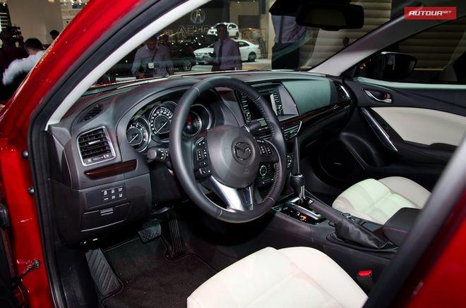 Новая Mazda6 — интерьер, фото 2