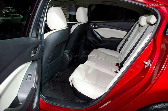 Новая Mazda6 — интерьер, фото 3