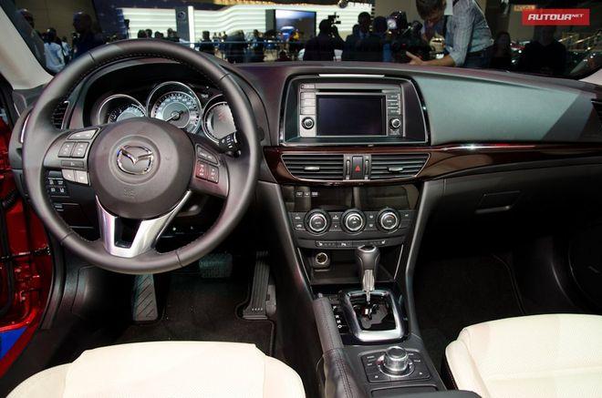 Новая Mazda6 — интерьер, фото 1