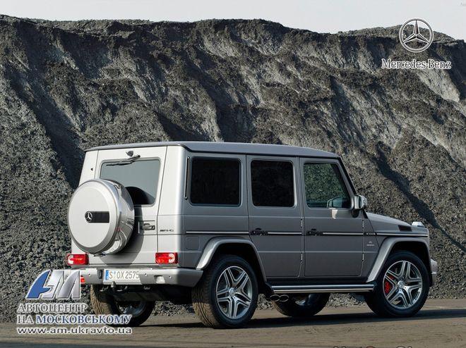 Mercedes G-класс — экстерьер, фото 2