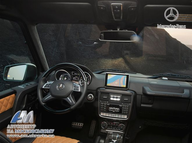 Mercedes G-класс — интерьер