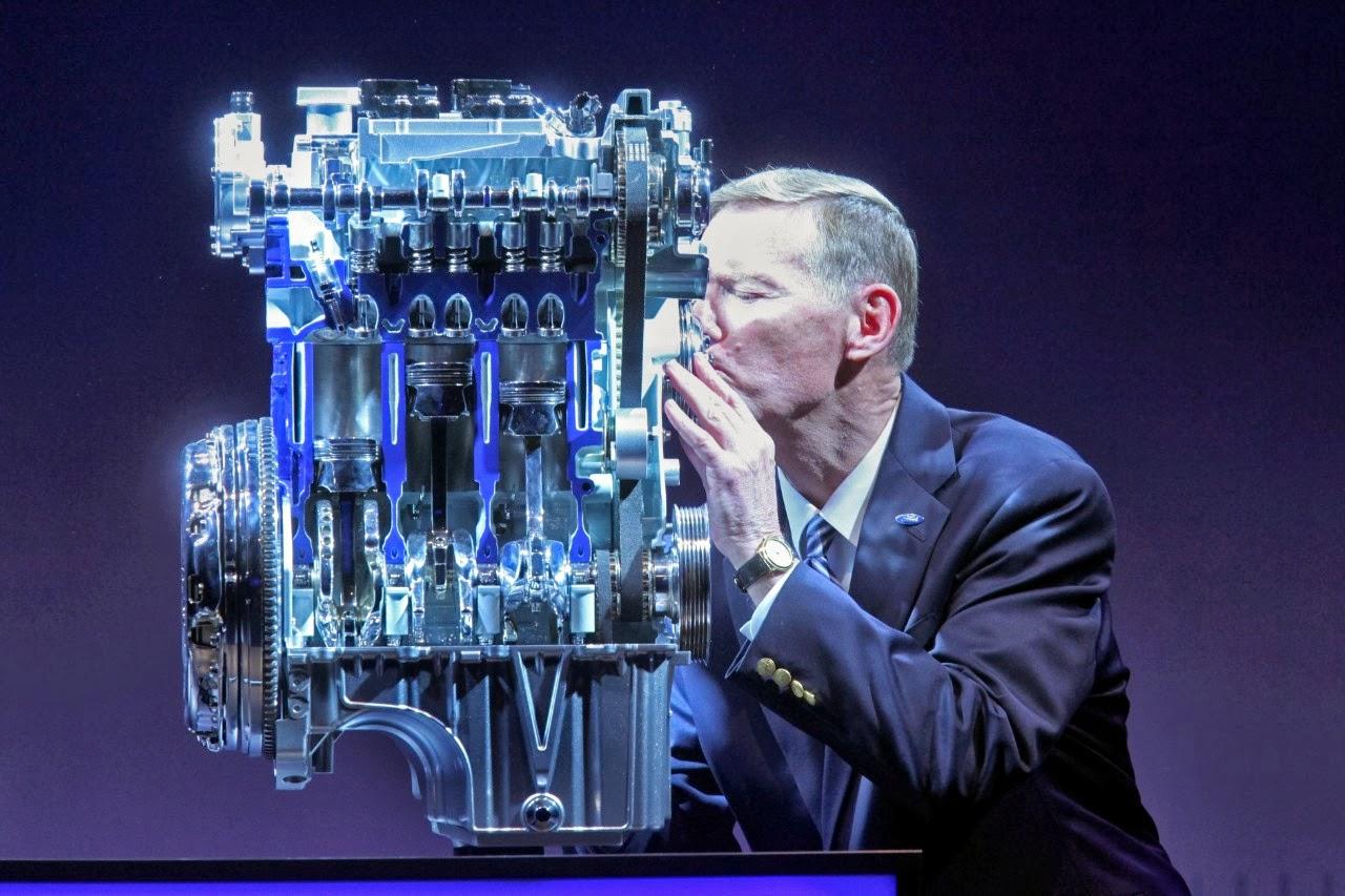 Как продлить жизнь турбине — советы автопроизводителей, фото мотора Ford EcoBoost
