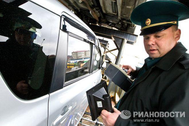 Замеры радиации российской таможней