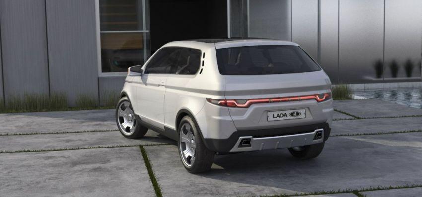 Неофициальный эскиз новой Lada 4х4