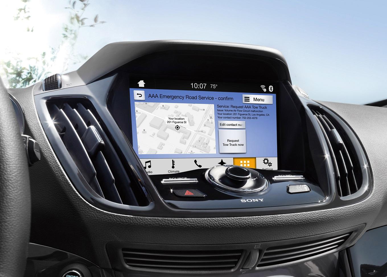 автомобильное приложение меню форд на планшет