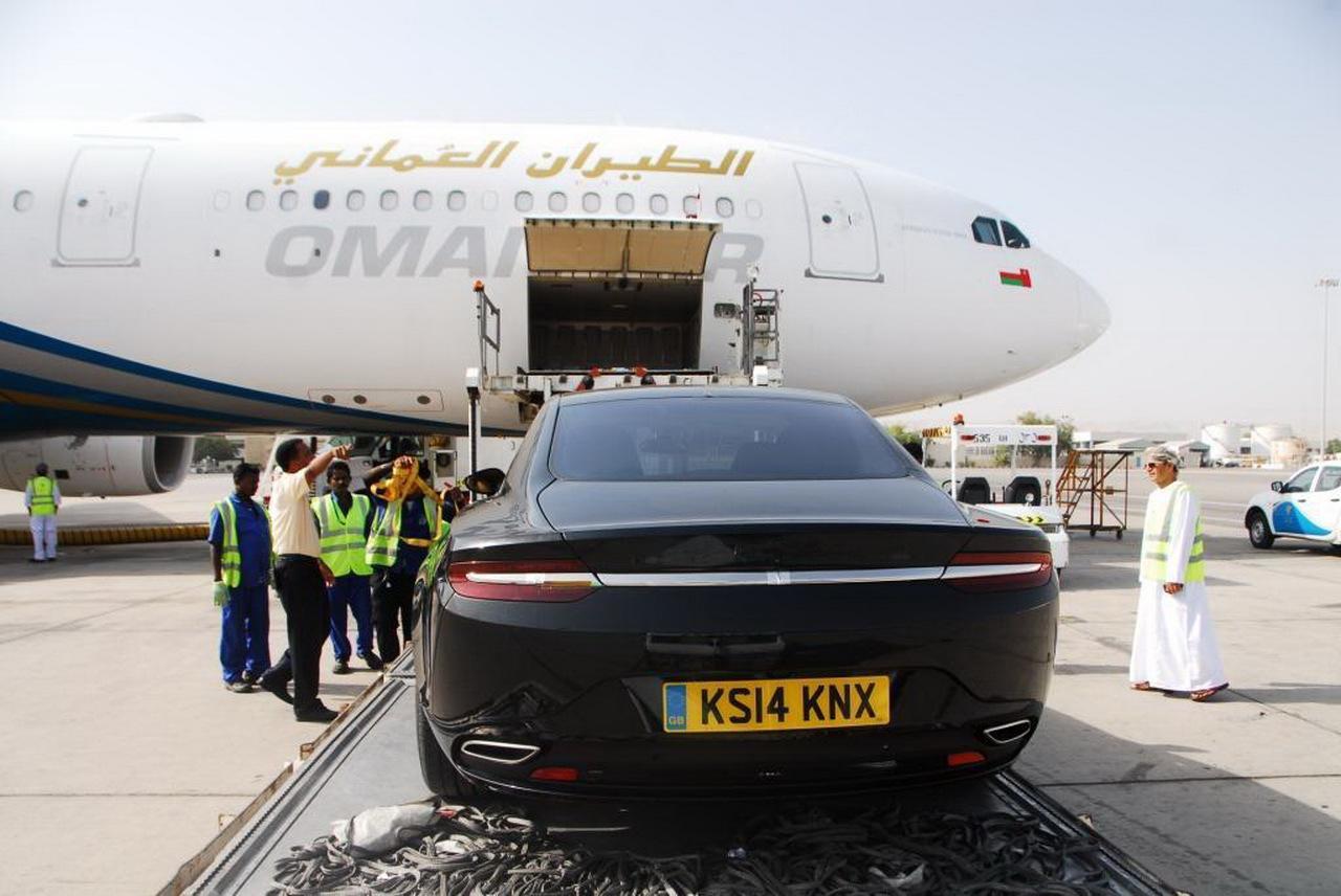 Aston Martin Lagonda rear