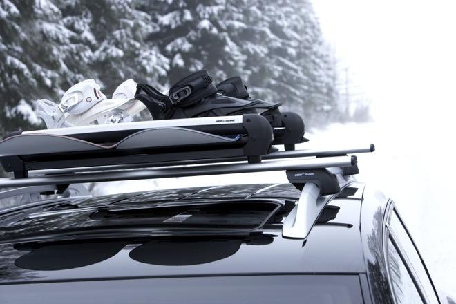 Крепление для лыж на крышу
