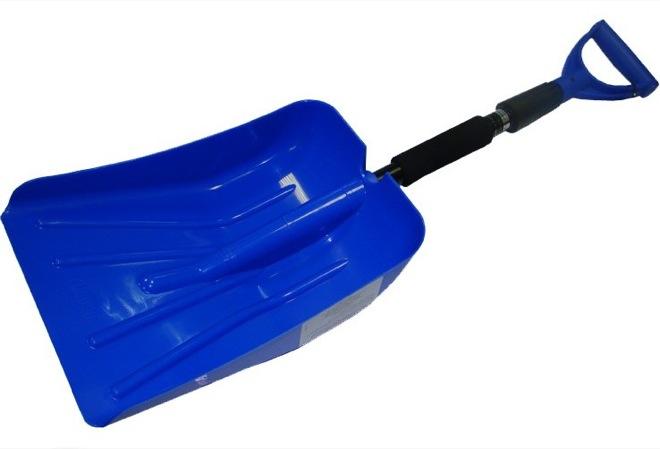 Лопата для снега автомобильная складная