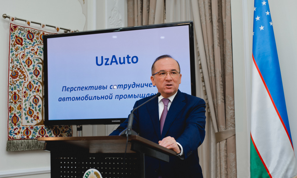 Посол Узбекистана в Украине Алишер Абдуалиев