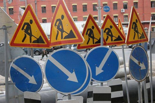 Движение транспорта на Московском проспекте запрещено
