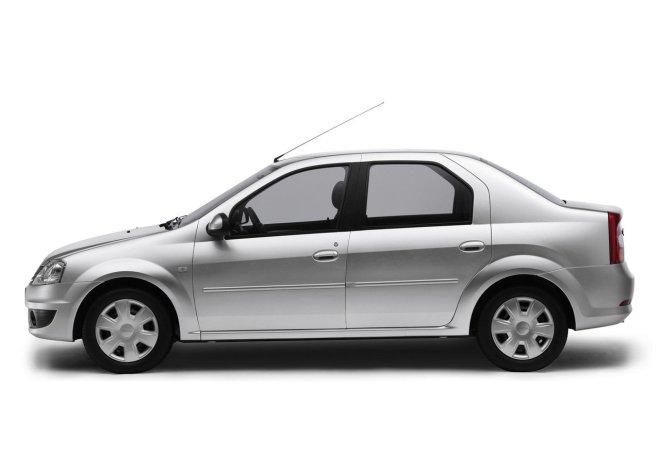 Renault Logan — седан, экстерьер, профиль