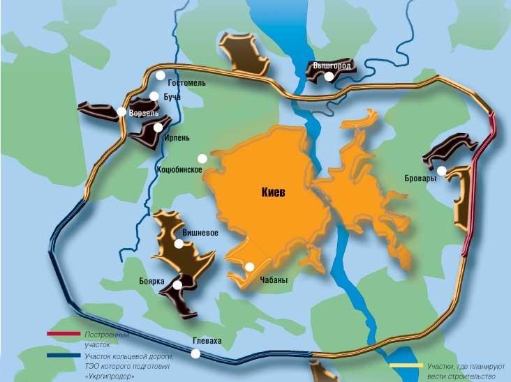 проект киевской кольцевой