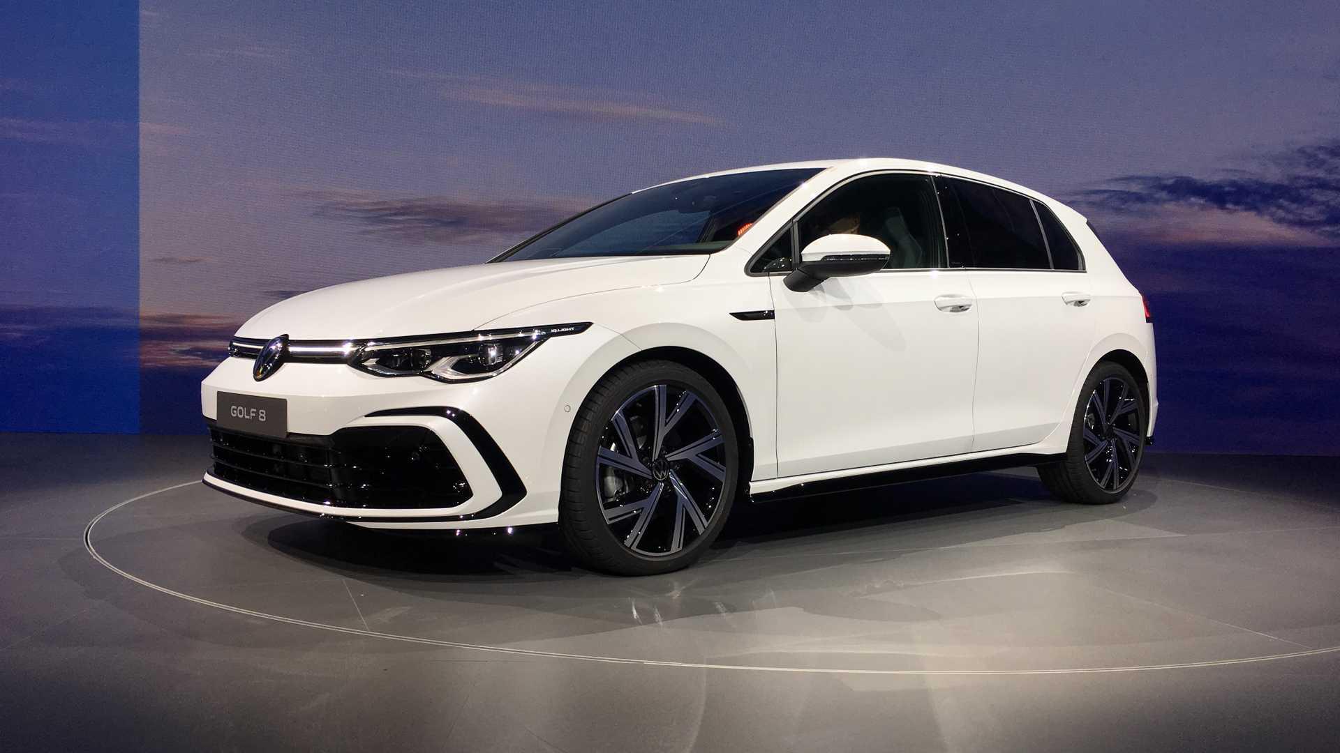 Новый Volkswagen Golf: полномасштабное гибридное и цифровое наступление