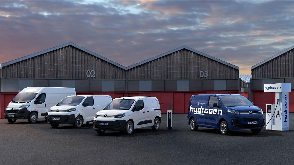 Линейка коммерческих электромобилей Citroën